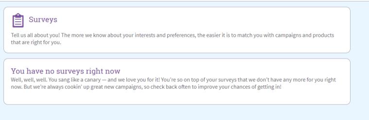 BzzAgent Surveys
