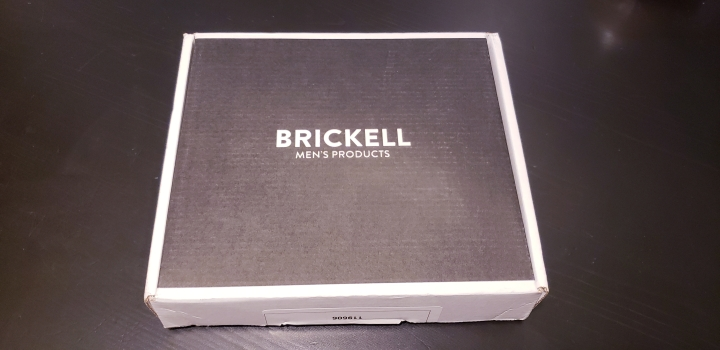 The Brickell Sample Box for Men Review