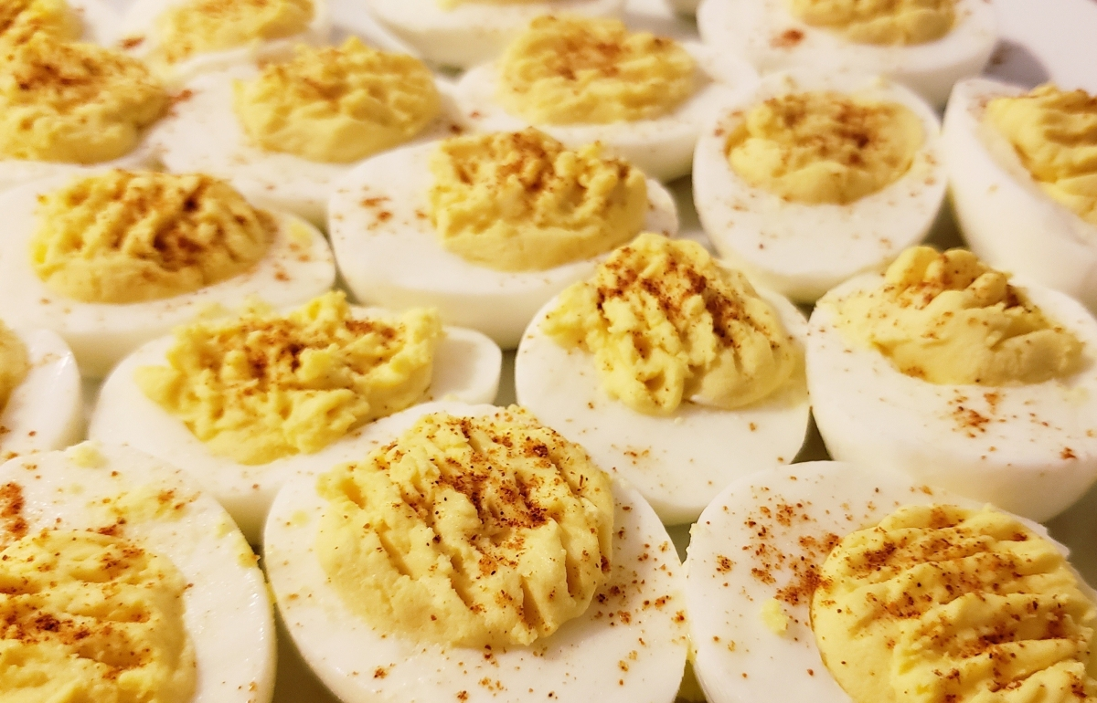 "Review: Paprika-Dusted Deviled Eggs from Reese Witherspoon's Book ""Whiskey In A Teacup"""