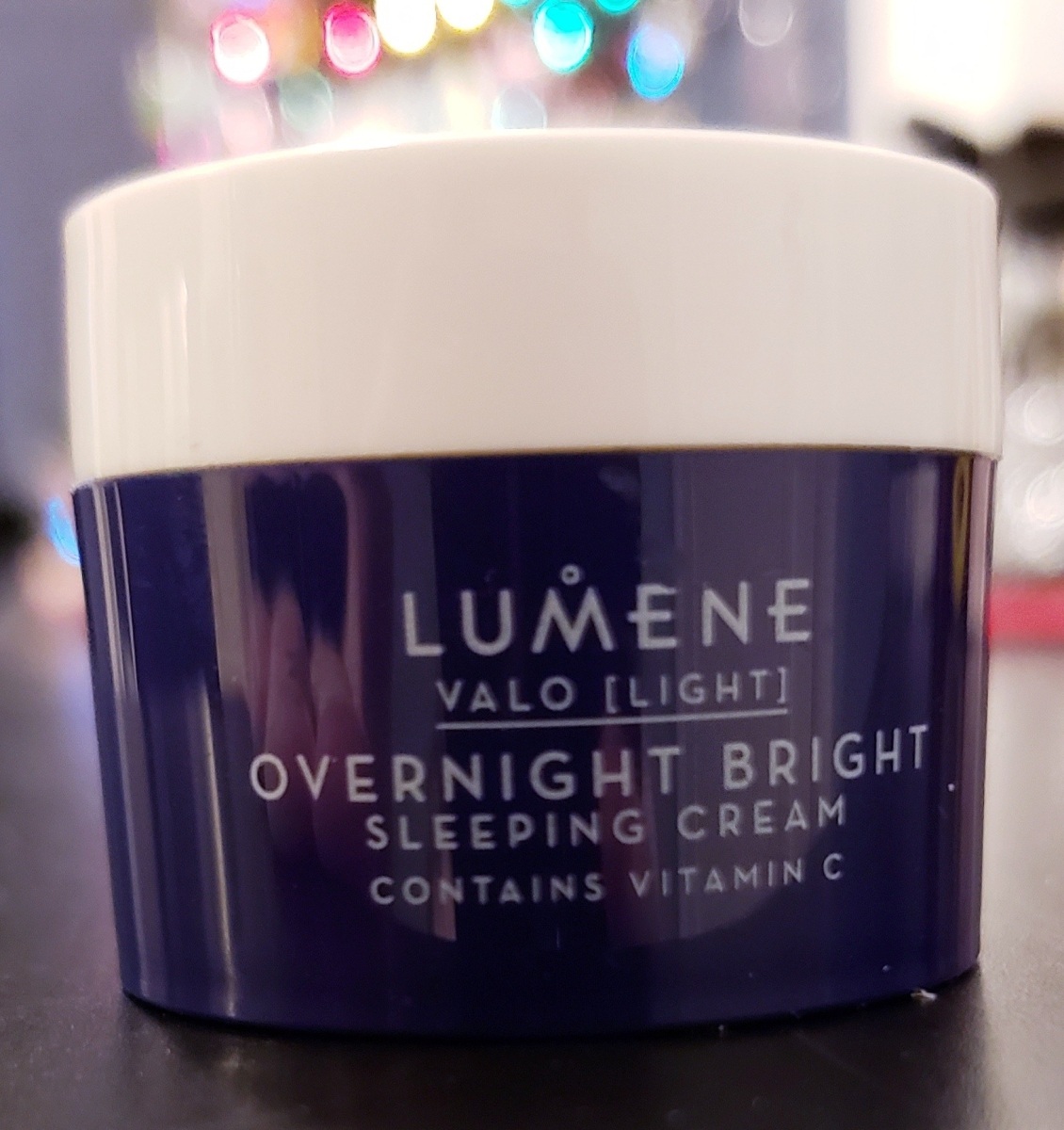 Lumene Valo [Light] Overnight Bright Sleeping Cream Review