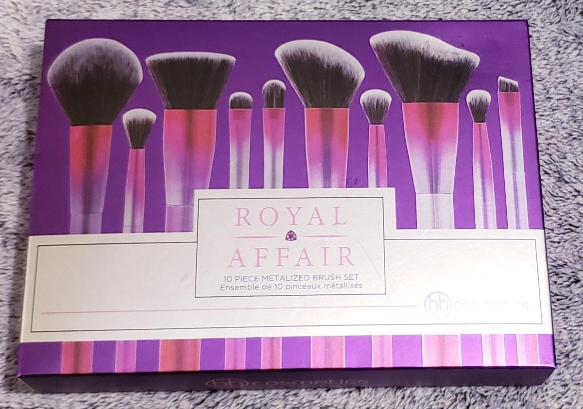 Fab or Fail? Royal Affair 10 piece brush set by BH ...