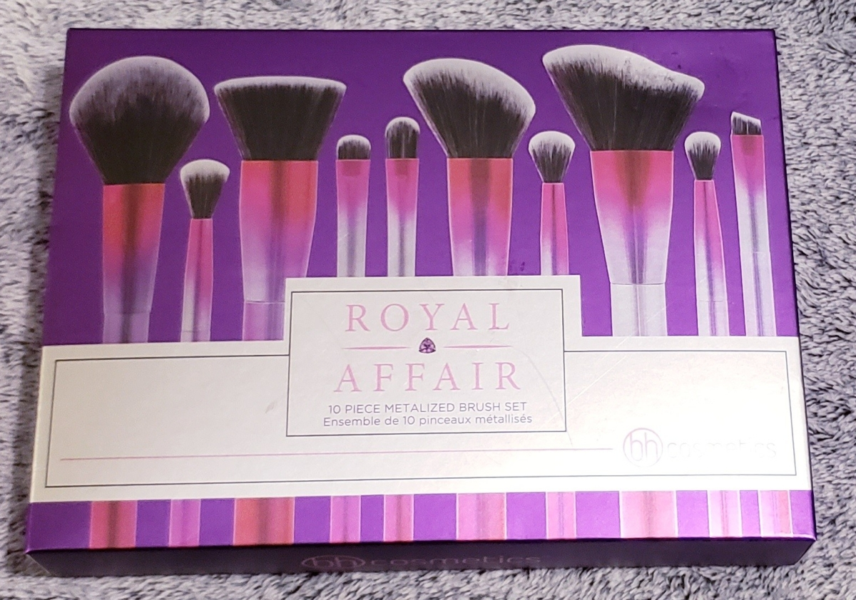 Fab or Fail? Royal Affair 10 piece brush set by BH Cosmetics LLC Review!
